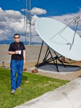 Ian Allen's photograph of Art Bell for Time. http://www.ianallenphoto.com/Art-Bell-for-Time
