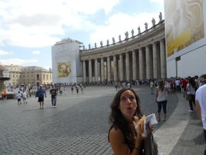 Paninis in Rome.
